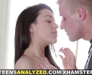 Teens Analyzed - Hot first-timer assfucked well