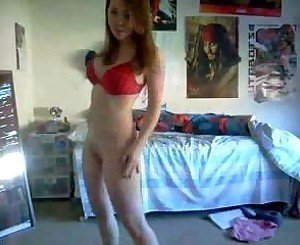 Naked Dancing Teen