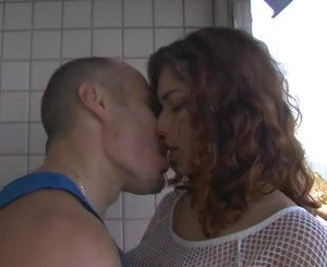 CURLY BRAZIL TEEN FUCKS LOVER