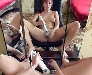hot webcam girl play with toys
