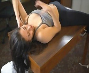 Beautiful 18 Year Old Latina Girl Tickled for First Time (Ivonne)