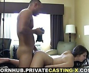 Private Casting X - Slurping fuck and loud orgasm