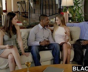 BLACKED First Interracial For Sydney Cole