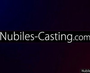 Nubiles Casting - Tiny tit babe tries out