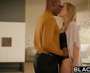 BLACKED Big Black Boss Protects Brett Rossi