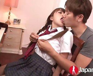 JAPAN HD Japanese Teen likes warm Creampie