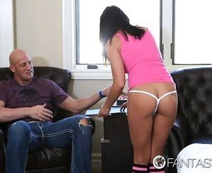 FantasyHD - Adrianna Chechik enjoys cock