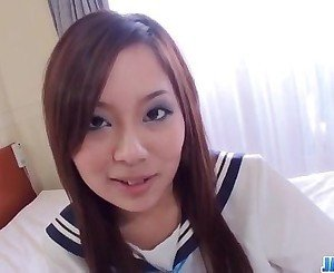 Nakoto Kurasaki schoolgirl enjoying hard