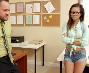 Alina Li really wants the teacher's assistant position