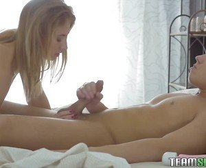 Sensual natural teen gets her anal fucked